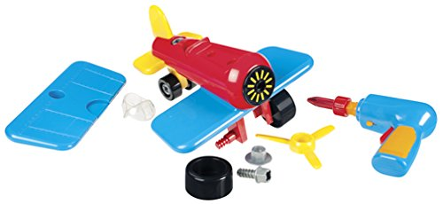 Battat Take-A-Part Airplane featured on TechSavvyMama.com's Best Gifts for Preschoolers 2015
