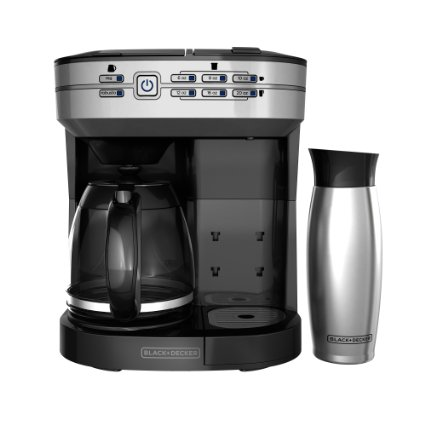 Black + Decker Cafe Select Dual Brew featured on TechSavvyMama.com's 2015 Best Gifts for Moms