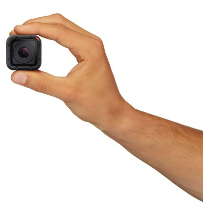 GoPro Hero 4 Session featured on TechSavvyMama.com's 2015 Gift Guide: Best Gifts for Teens