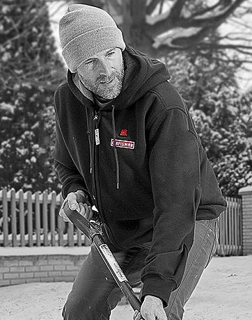 Heated Hoodie from Craftsman featured on TechSavvyMama.com's 2015 Best Gifts for Dads