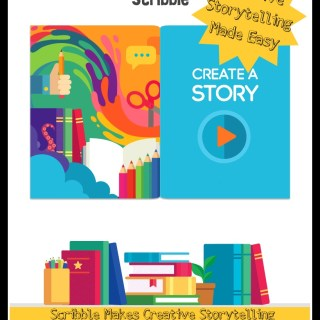 Scribble by Fingerprint Makes Creative Storytelling Easy for Ages 6-8 (w giveaway)
