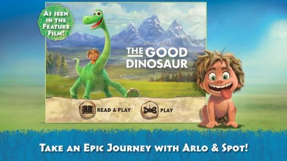 Good Dinosaur Storybook Deluxe App