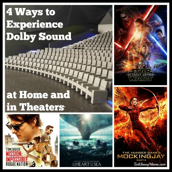 4 Ways to Experience Dolby Sound in Theaters & at Home with a Mission: Impossible - Rogue Nation giveaway on TechSavvyMama.com