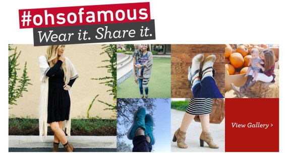 Famous Footwear #ohsofamous style gallery