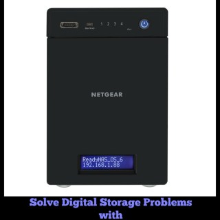 Solve Digital Storage Problems with Netgear ReadyNAS