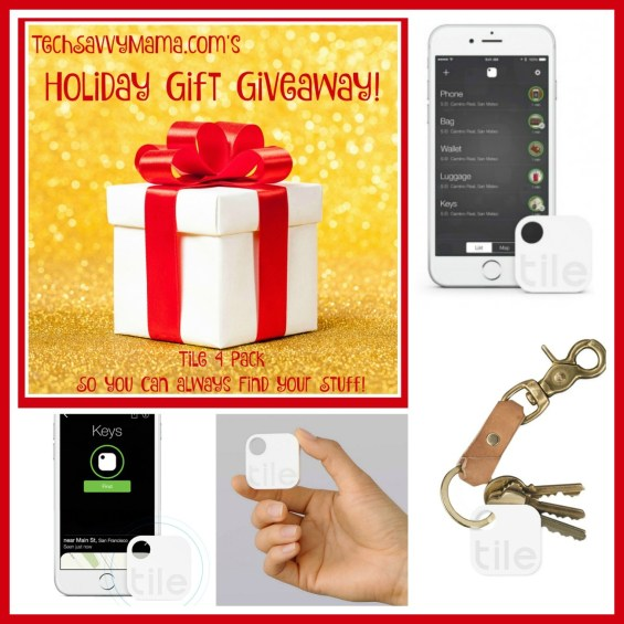 TechSavvyMama.com's Holiday Gift Giveaway: Set of 4 Tile