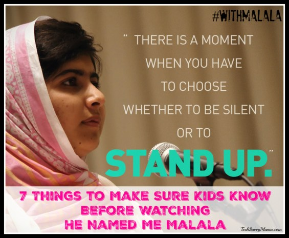 7 Things to Make Sure Kids Know Before Watching He Named Me Malala