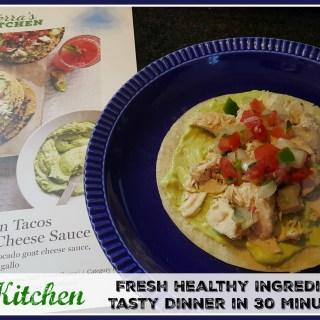Terra's Kitchen Meal Delivery Kit Provides Fresh Healthy Ingredients for a Tasty Dinner in 30 Minutes or Less (+coupon!)