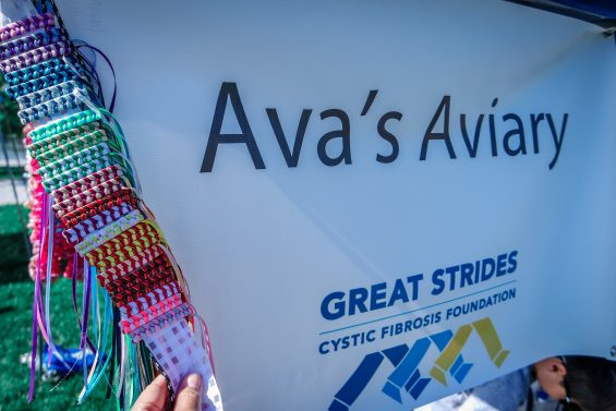 Ava's Aviary at 2016 Great Strides DC Walk © 2016, Leticia Barr All Rights Reserved — TechSavvyMama.com