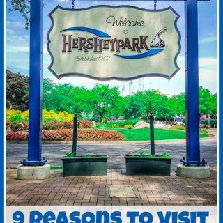 9 Reasons to Visit Hersheypark (w giveaway) #HersheyParkHappy #PepsiatthePark
