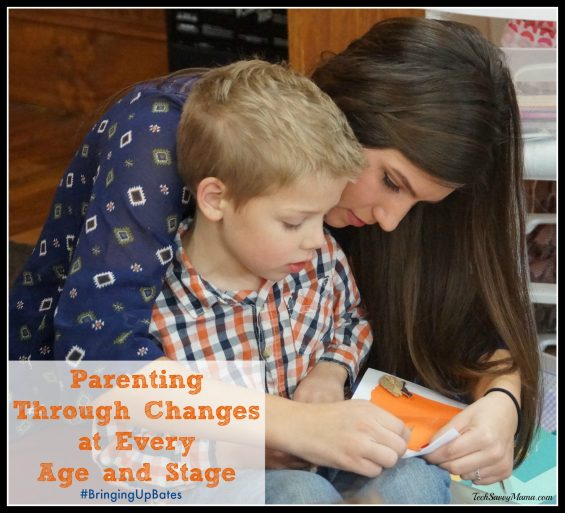 Parenting Through Changes at Every Age and Stage #BringingUpBates on TechSavvyMama.com
