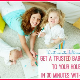 Last minute childcare needs? How Chime Gets a Trusted Babysitter to Your House in 30 Minutes