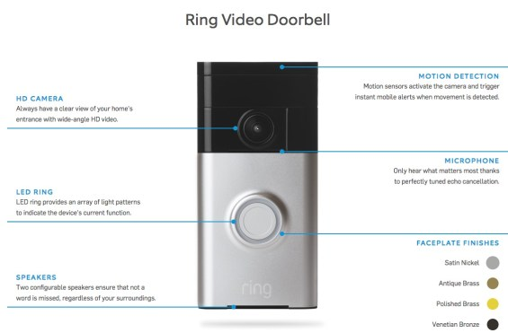 Ring Video Doorbell Features in How I Answered My Door from Rome Thanks to Ring on TechSavvyMama.com