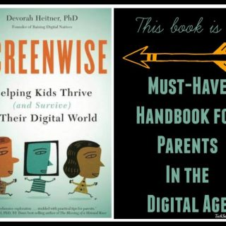 Screenwise: A Must-Have Handbook for Parents in the Digital Age (book review w author Q&A)