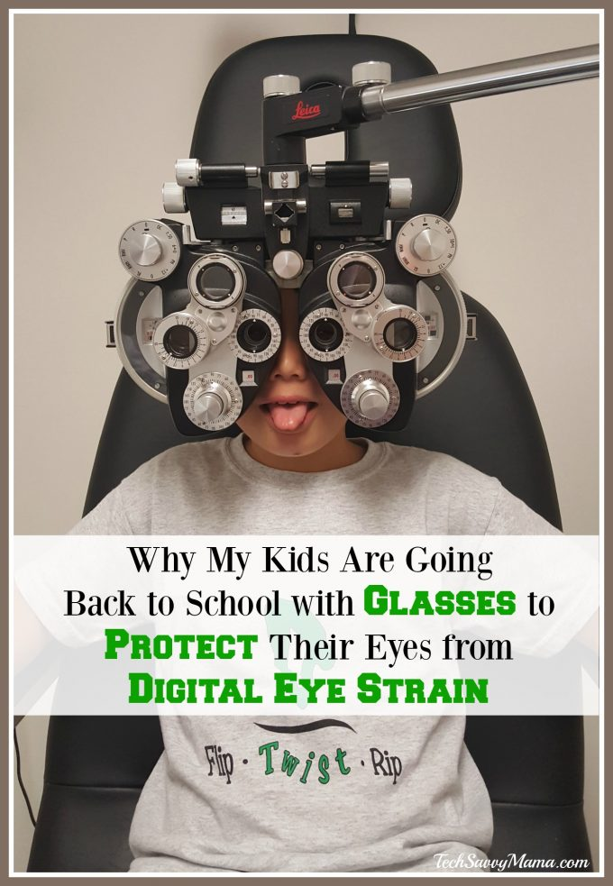 Why My Kids Are Going Back to School with Glasses to Protect Their Eyes from Digital Eye Strain — TechSavvyMama.com