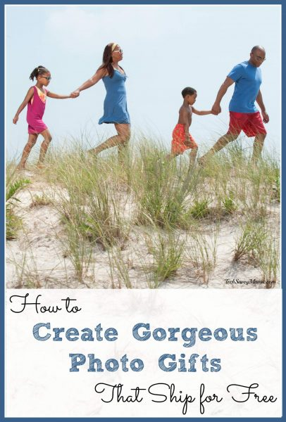 How to Create Gorgeous Photo Gifts that Ship for Free on TechSavvyMama.com