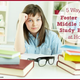 How to Create Effective Routines to Teach Middle School Study Habits at Home