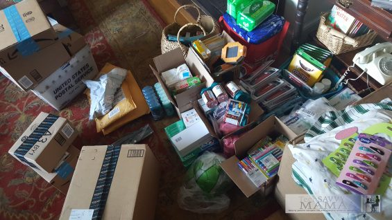 Donations received by TechSavvyMama.com to take to help Haitian artists affected by Hurricane Matthew