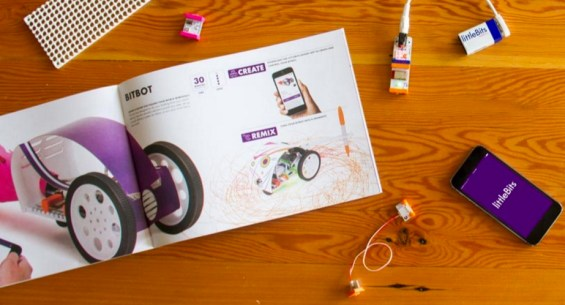 Why Young Makers Will Love littleBits Gizmos & Gadgets Kit, 2nd Edition. Details on TechSavvyMama.com
