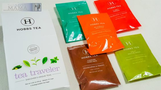 Tea Traveler Pack from Hobbs Tea in CAUSEBOX: Socially Conscious Subscription Box That Does Good Around the World. Full review on TechSavvyMama.com
