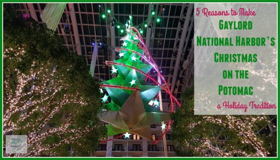 5 Reasons to Make Gaylord National Harbor's Christmas on the Potomac A Holiday Tradition on TechSavvyMama.com
