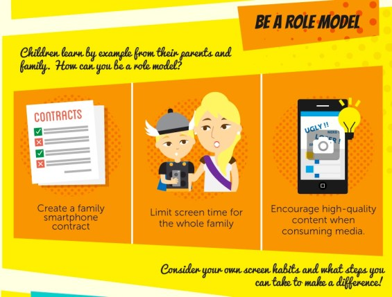 TeenSafe #FightScreenAddiction: Be a role model
