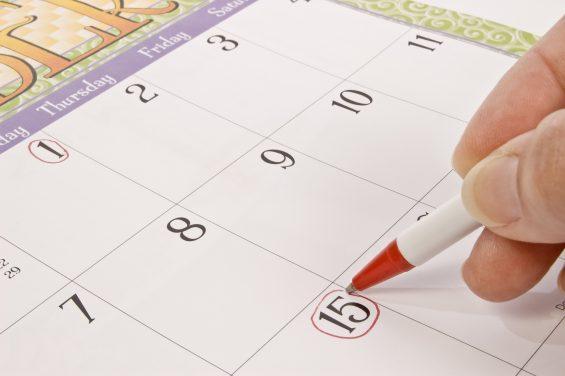 Marking The Calendar