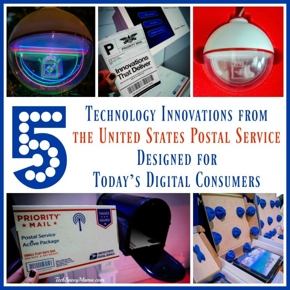 5 Technology Innovations from the United States Postal Service Designed for Today's Digital Consumers #CES2017 — TechSavvyMama.com