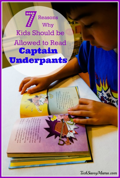 Why Kids Should be Allowed to Read Captain Underpants