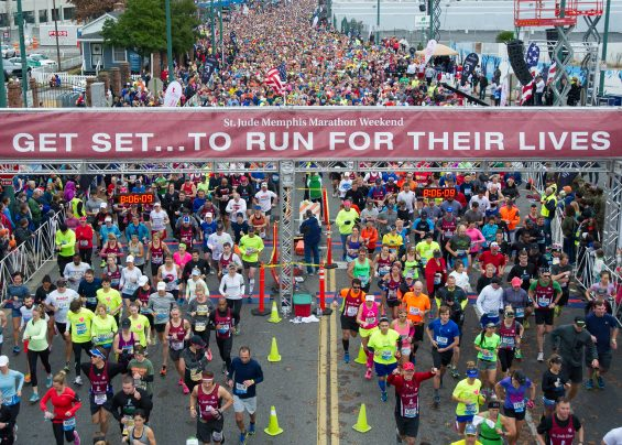 8 Reasons to Run as a St. Jude Hero During St. Jude Memphis Marathon Weekend