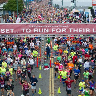 9 Reasons to Run as a St. Jude Hero During St. Jude Memphis Marathon Weekend