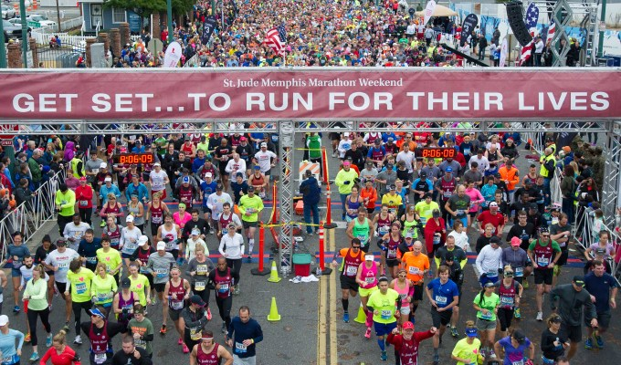 9 Reasons to Run as a St. Jude Hero During St. Jude Memphis Marathon Weekend