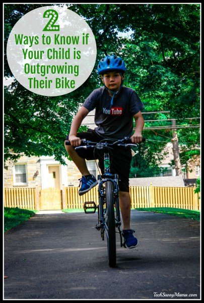 how to know if your child has outgrown their bike