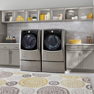 Upgrade Your Current Washer and Dryer with LG Front Load Laundry