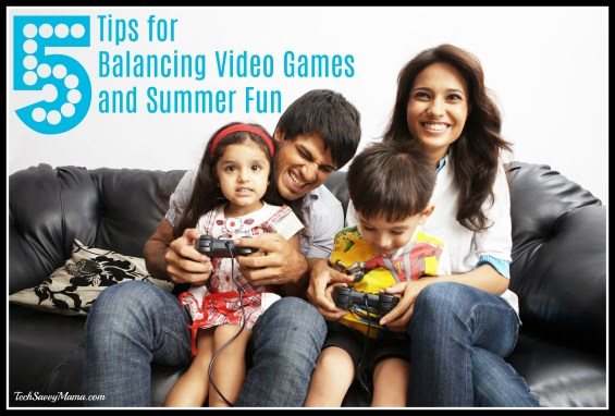 Balancing Video Games and Summer Fun