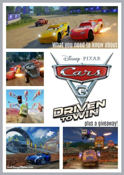 Cars 3 Driven to Win Video Game Giveaway