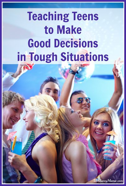 How to Teach Kids to Make Good Decisions in Tough Situations