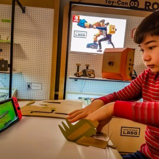 Exclusive First Look at Nintendo Labo for Switch (w video)