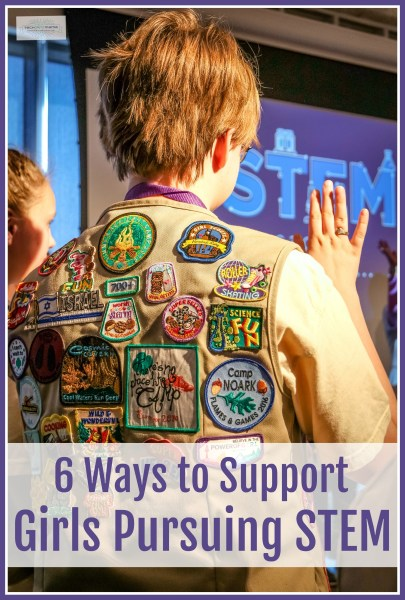 6 Ways to Support Girls Pursuing STEM