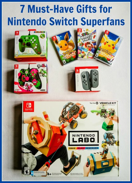 7 Must-Have Gifts for Nintendo Switch Superfans