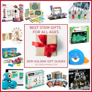 2019 Gift Guide: Best STEM Gifts for Kids of All Ages (w giveaway)