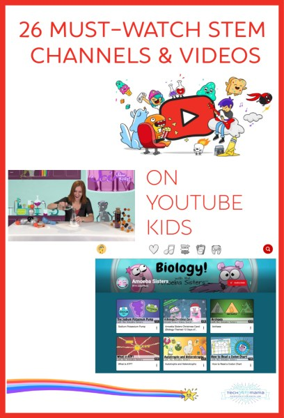 YouTube Kids STEM