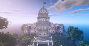 Minecraft Build the Vote
