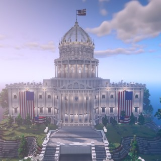 Minecraft Build the Vote Lets Kids Vote on Important Political Issues