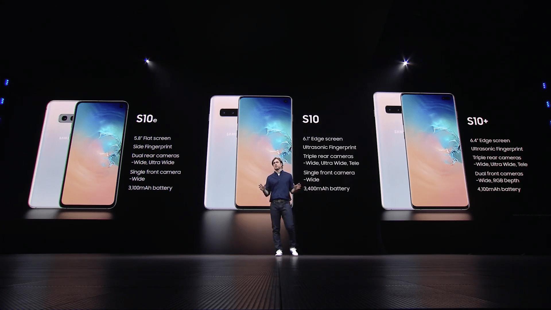 Galaxy Unpacked 2019 live stream 1-27-30 screenshot