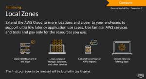 The AWS Local Zone