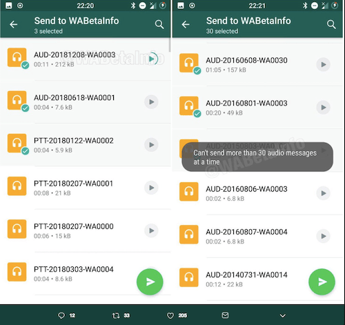 Latest Whatsapp update