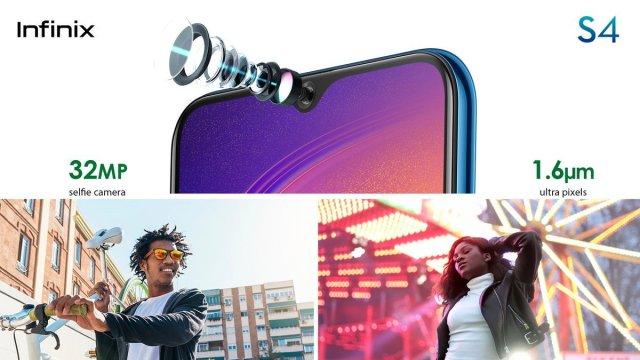 Infinix Hot S4 camera
