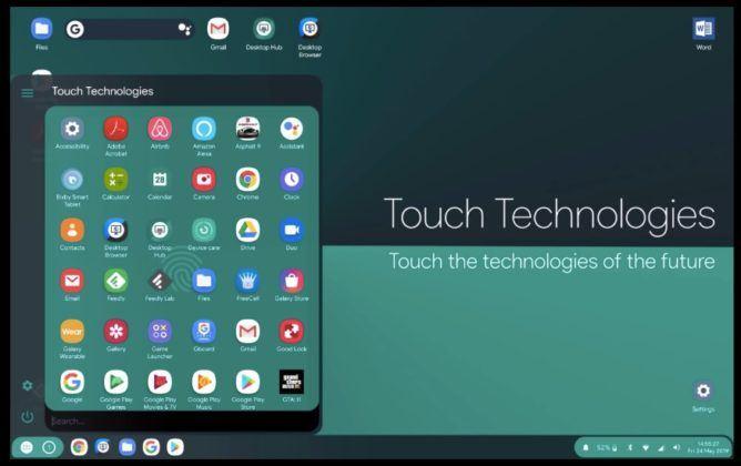 Android Q desktop mode image3