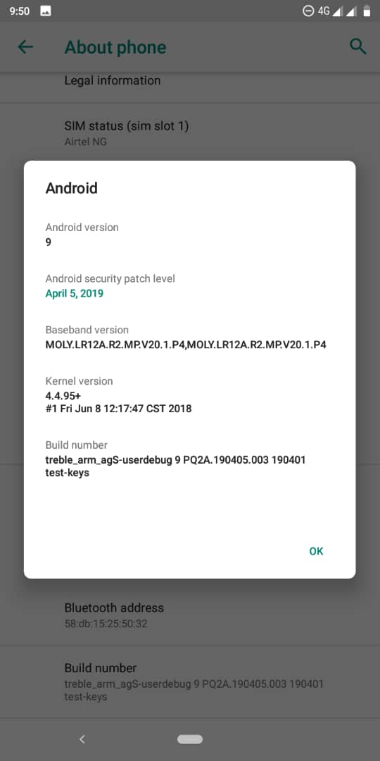 Android Pie custom rom for Infinix smart 2